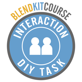 BlendKit2014: Interactions - DIY Tasks