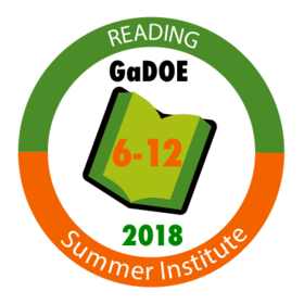 6-12 Summer Reading Institute 2018