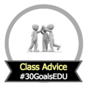Goal: Class advice to future students