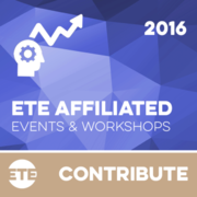 Contribute - ETE Affiliated Events & Workshops 2016