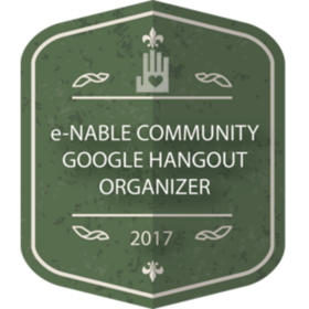 e-NABLE COMMUNITY GOOGLE HANGOUT ORGANIZER