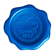 Open SUNY Center for Online Teaching Excellence Summit 2017.