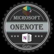 OneNote Level 2