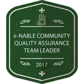 e-NABLE COMMUNITY QUALITY ASSURANCE TEAM LEADER