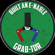 """Built An e-NABLE """"Grab-Tor"""""""
