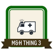 M&H Thing 3 - Data sharing and discovery