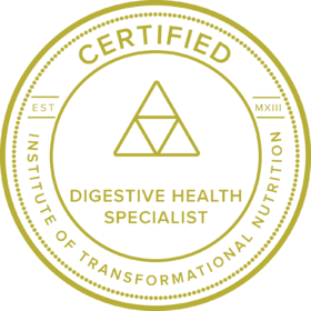 Certified Digestive Health Specialist Badge