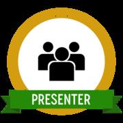 Presenter Digital Badge