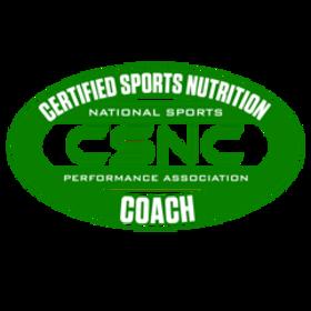 Certified Sports Nutrition Coach