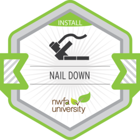 Nail-Down Installation Process