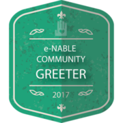 e-NABLE COMMUNITY GREETER