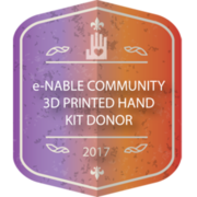 e-NABLE COMMUNITY HAND KIT DONOR