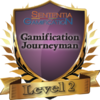 badge image for Level 2: Gamification Journeyman Certification