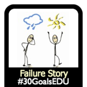 Goal: Share Your Failure Story
