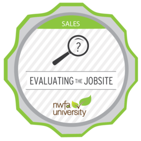 Evaluating the Jobsite: Sales