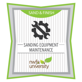 Sanding Equipment Maintenance
