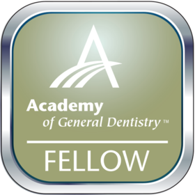 Fellow in the Academy of General Dentistry