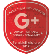 JOINED e-NABLE GOOGLE+ COMMUNITY