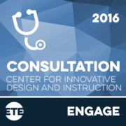 Engage - CIDI Individualized Consultation 2016