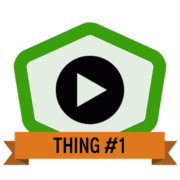 Thing 1: Getting started with data