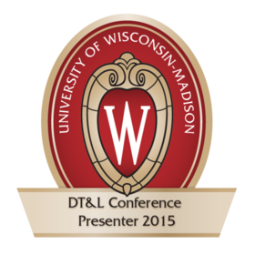 Distance Teaching & Learning Conference Presenter 2015