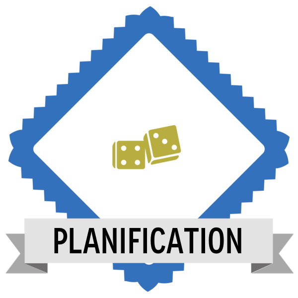 Ludification Planification Credly