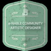 e-NABLE COMMUNITY ARTISTIC DESIGNER