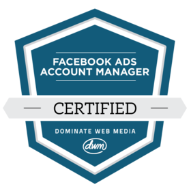 Facebook Ads Account Manager Certification
