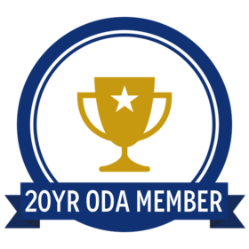 20 Year Oregon Dental Association Member