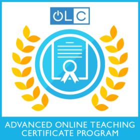 Advanced Online Teaching Certificate Program