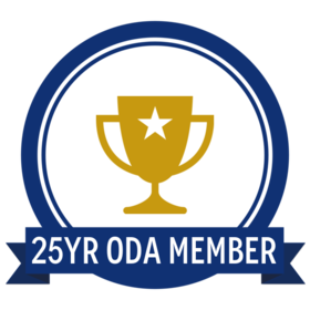 25 Year Oregon Dental Association Member