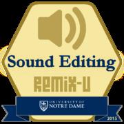 Remix: Sound Editing