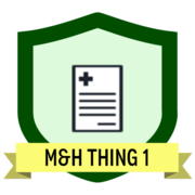 M&H Thing 1 - Getting started with research data