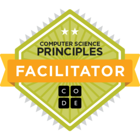 Code.org's Computer Science Principles Facilitator
