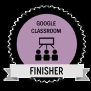 Google Classroom Challenge Finisher