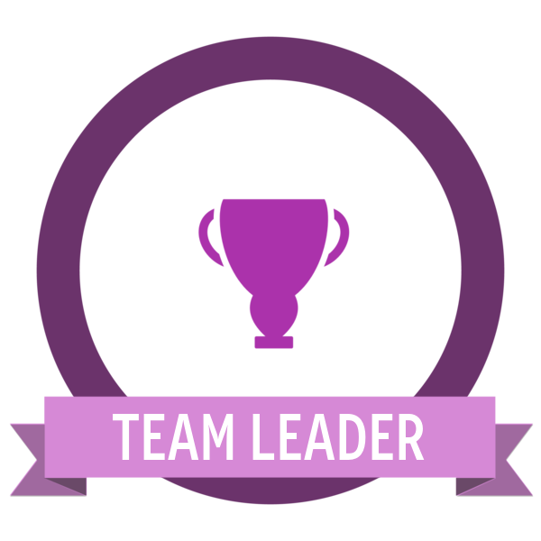Team leader badge icon