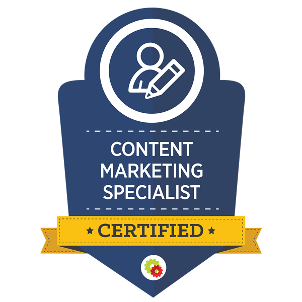 Certified Content Marketing Specialist