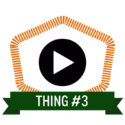 Thing 3: Data in the research lifecycle