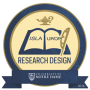 2016 ISLA/UROP Research Design Badge