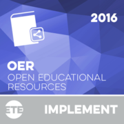 Implement - Open Educational Resources 2016