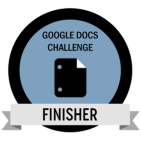 Google Docs Challenge Finisher