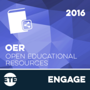Engage - Open Educational Resources 2016