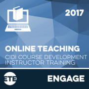 Engage - Online Instructor Training 2017
