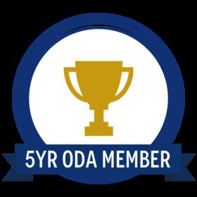 5 Year Oregon Dental Association Member
