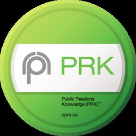 Public Relations Knowledge (PRK) exam