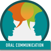 Oral Communication Badge