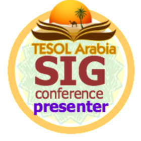 TESOL Arabia - SIG Conference - Presenter