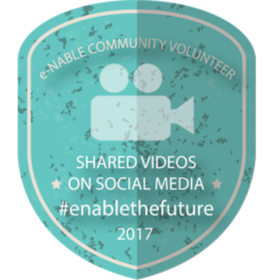 e-NABLE Video Shared On Social Media