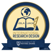 2015 ISLA/UROP International Research Design Badge