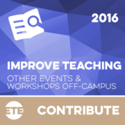 Contribute - Teaching Related Workshop or Conference Off-Campus 2016